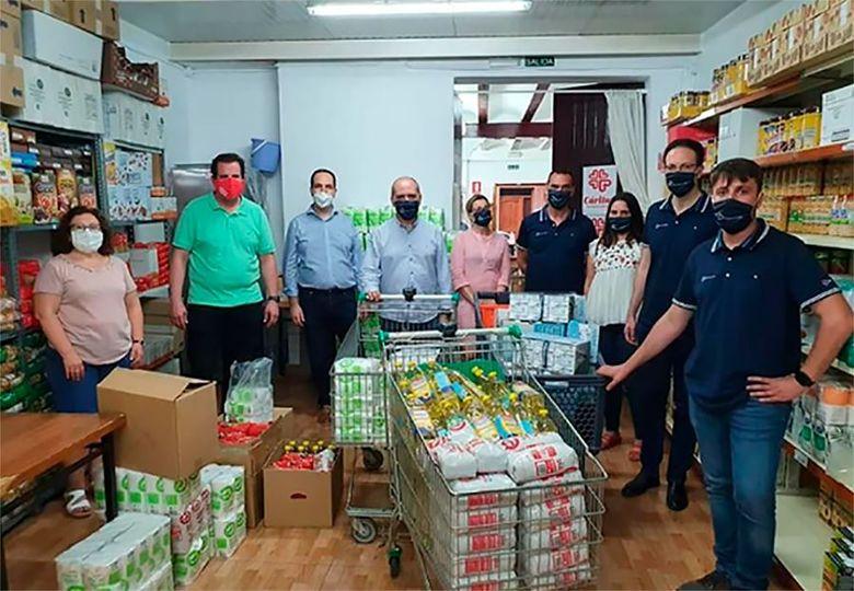 Grupo Cemalu colabora con Caritas en Aldaia